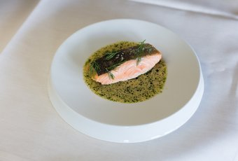 Lachs Steak nach Thomas Pape