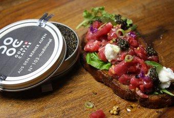 Tartare avec caviar Oona n° 103