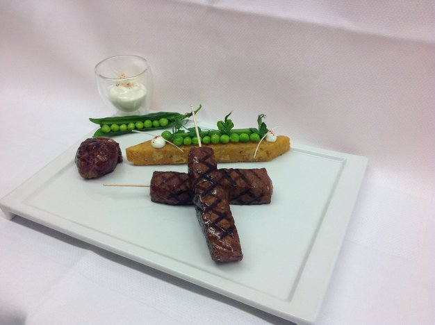 Gegrilltes Wagyu Striploin Steak
